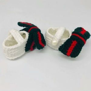 Other - Baby Crochet Maryjane Bow Sandal